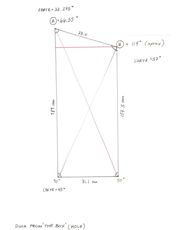 Diagram for door
