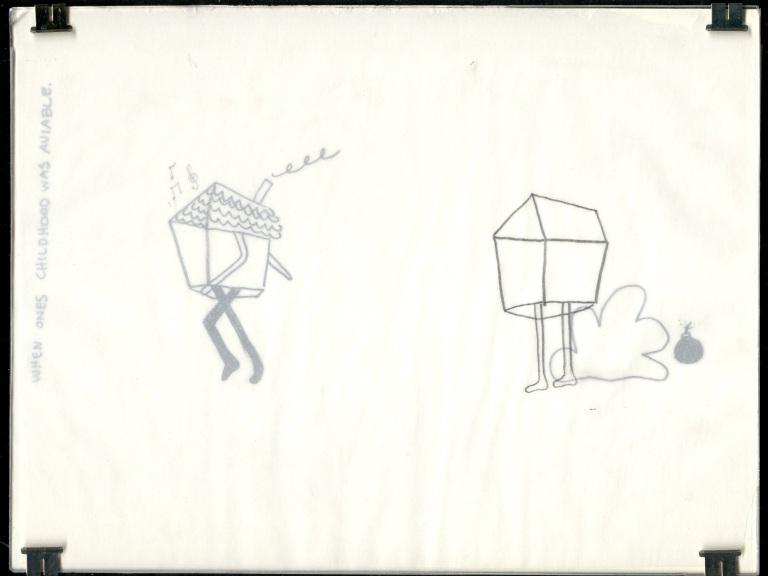 Framing a drawing