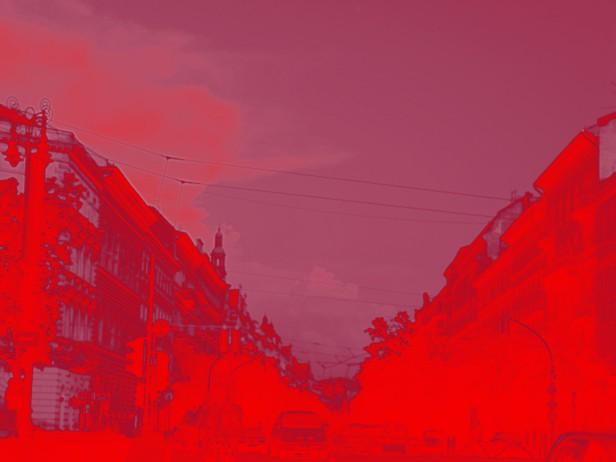 Landscape 16. Red Landscape