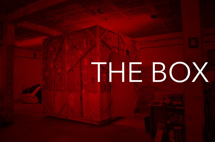The Box Red Trailer