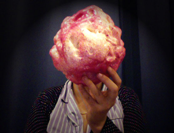 The candy meteorite by Heini Yliijoki