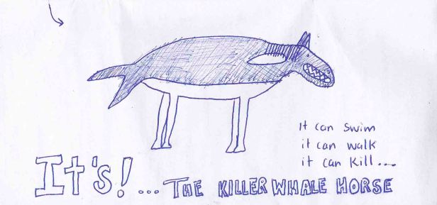 The Killer Wahle-Horse