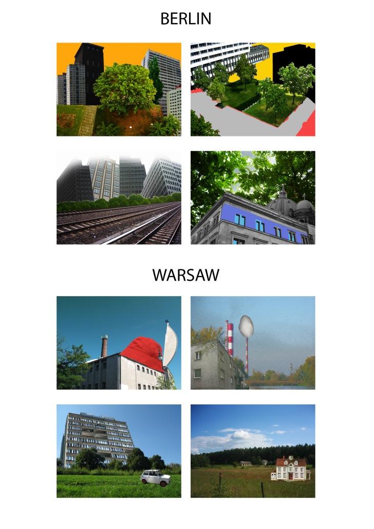 Comparing Landscapes trough cities