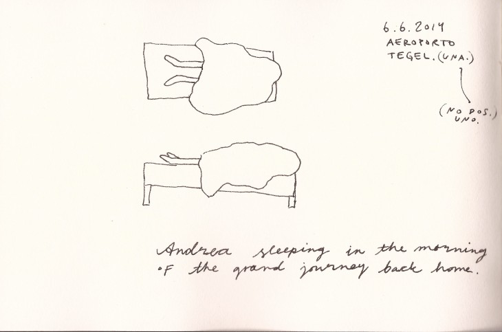 The sleep drawing explanation