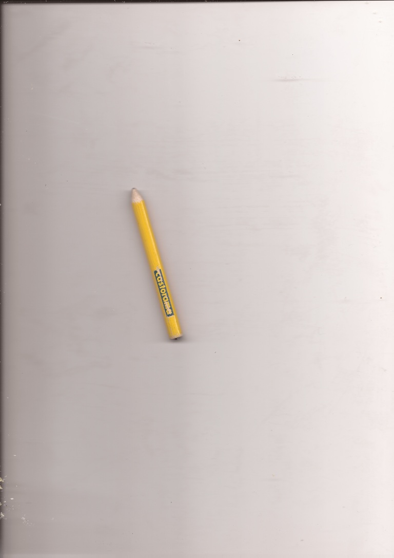 Recovering one of my favourite pencils from the inside of a jacket.