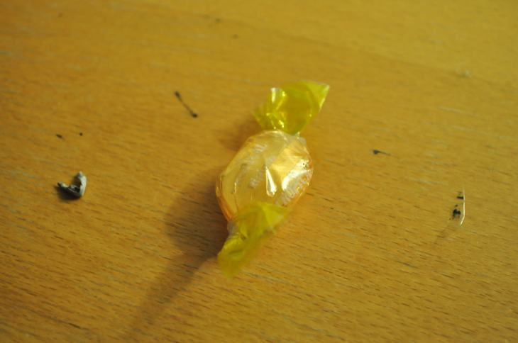 Posting the picture of a candy I found.